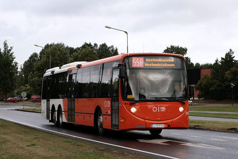 Bussi-numero-550-bus-number-jokerilinja