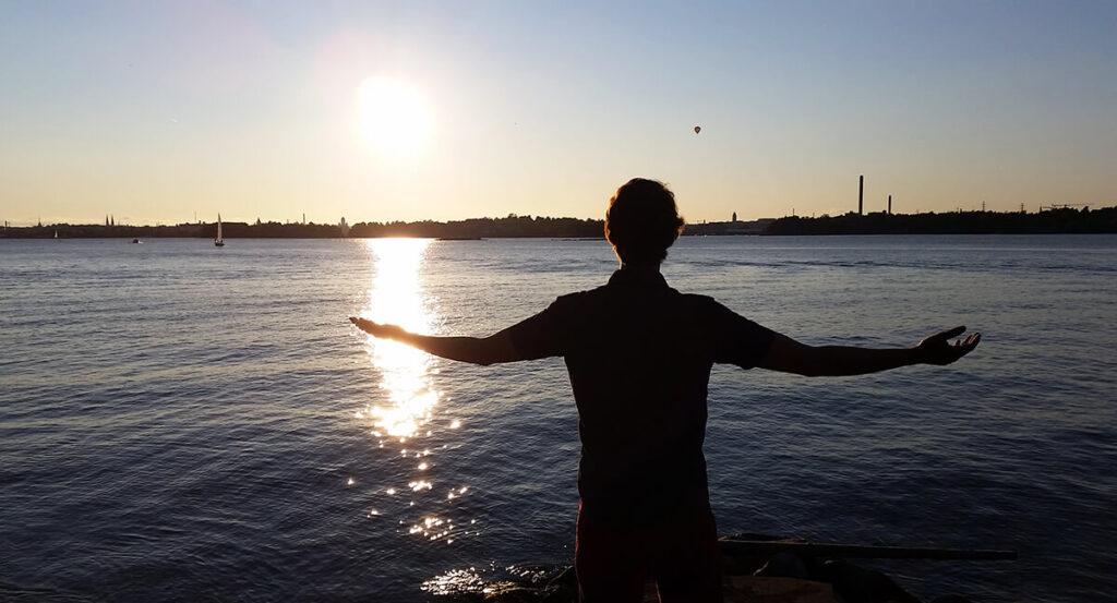 Helsinki Kruunuvuoresta katsottuna