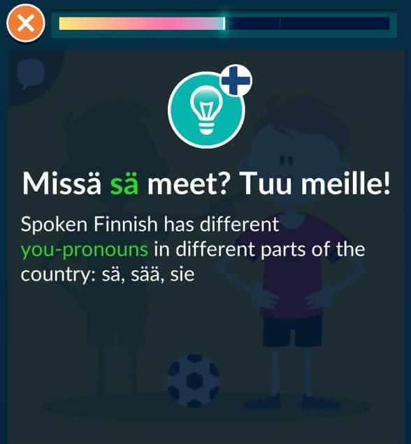 Worddive has excellent course for spoken Finnish