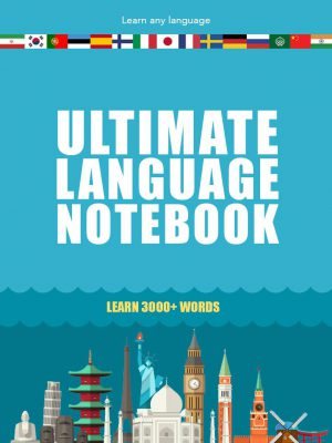 The cover of ultimate language notebook by don cristian ramsey